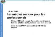 Les médias sociaux pour les professionnels